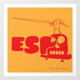 ESP Art Print