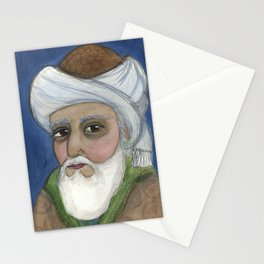"""""""It Is Rumi It Is"""", Rumi Literary Portrait Stationery Cards"""