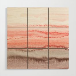 WITHIN THE TIDES CORAL DAWN Wood Wall Art