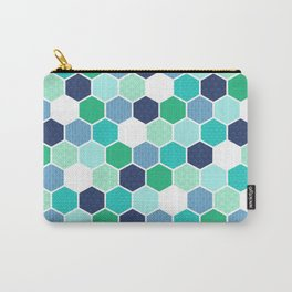 Galactic Hexagons 1 Carry-All Pouch