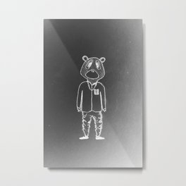 Yeez Man Metal Print