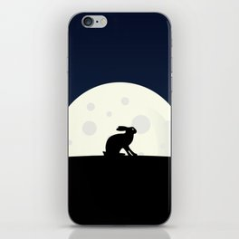 Rabbit at Dusk iPhone Skin