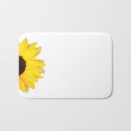 1/2 summer - white Bath Mat