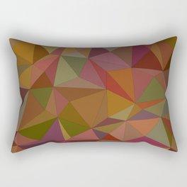 Autumn  triangles Rectangular Pillow