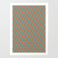 Tile Pattern 2 Art Print