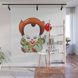 Pennywise From The Movie IT Wall Mural