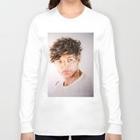 louis Long Sleeve T-shirts featuring Louis  by Drawpassionn