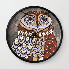 Night Vision Owl  Wall Clock