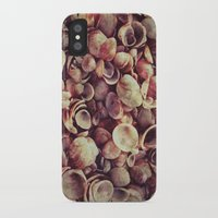 shells iPhone & iPod Cases featuring Shells by Riss