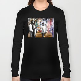 Jesus loves KFC - WhoTheHellisJesus #2 Long Sleeve T-shirt