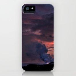 Sunset at Kalapana iPhone Case