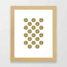 Smileys Framed Art Print