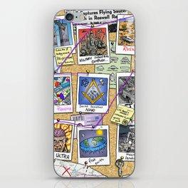 Conspiracy Theorist iPhone Skin