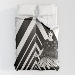 The Many Faces of Peggy Moffitt Comforters