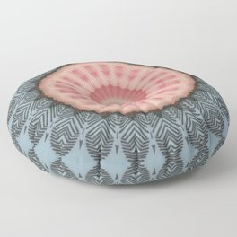 Pallid Rose Base Mandala Floor Pillow