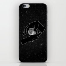 Hold the Moon iPhone & iPod Skin