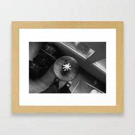 Thanks for the cactus Framed Art Print