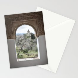 Window to Granada Stationery Cards