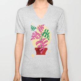 Plant Love Unisex V-Neck