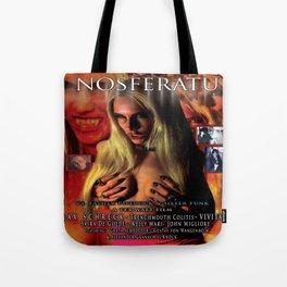 Nosferatu vs. Father Pipecock & Sister Funk (2014) -Movie Poster Tote Bag