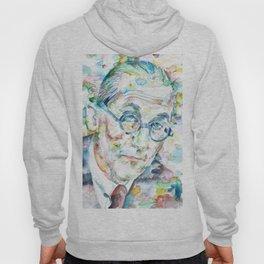 LE CORBUSIER - watercolor portrait Hoody