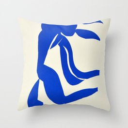 Blue Nude Dancing - Henri Matisse Throw Pillow