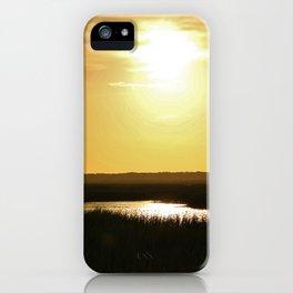 Rays Of Sun iPhone Case