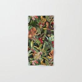 Vintage & Shabby Chic - Black Monkey Banana Jungle Hand & Bath Towel