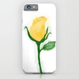 Yellow Tulip Rose iPhone Case