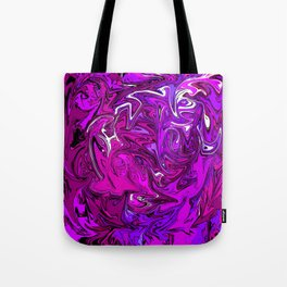 The Many Mysteries of Purple Tote Bag