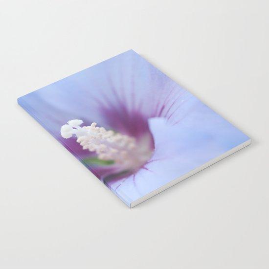 Soft Purple Hibiscus Flower #1 #art #society6 Notebook