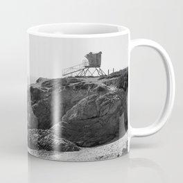 Leo Carrillo State Beach | Malibu California | Black and White Photography | Malibu Photography Coffee Mug