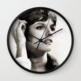 Katharine Ross, Vintage Actress Wall Clock
