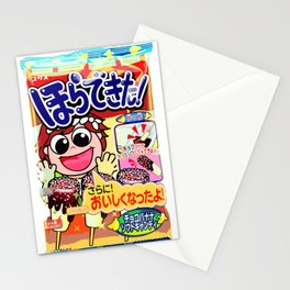 Rainbow candy Stationery Cards