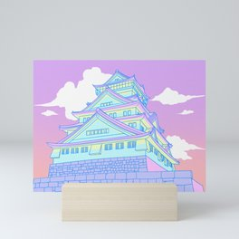 Osaka Castle Mini Art Print