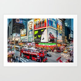 Times Square II Special Edition III Art Print