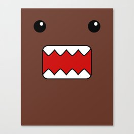 Domo Kun - Brown Japanese Monster Canvas Print