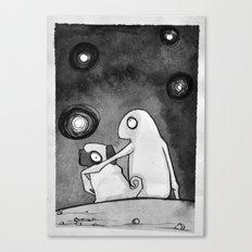 Omino Luna Canvas Print