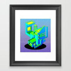 Cool Haus Framed Art Print