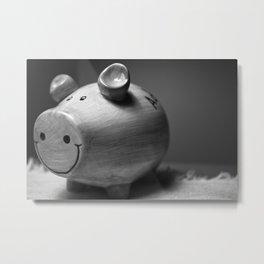 Oink Metal Print