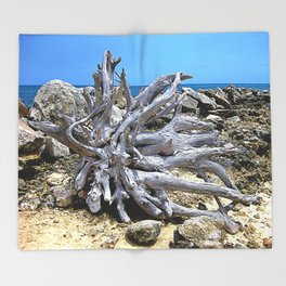 Bermuda  Driftwood Throw Blanket