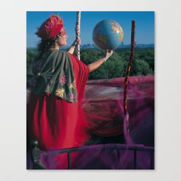 2 of Wands Canvas Print