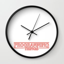 Programming Things Wall Clock