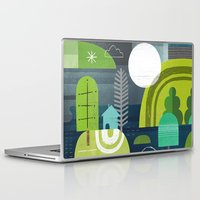 norway Laptop & iPad Skins featuring Norway by Jessie Ford