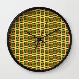 ST KITTS & NEVIS Wall Clock
