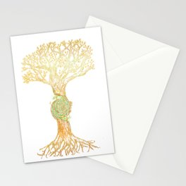 Magic Tree Stationery Cards
