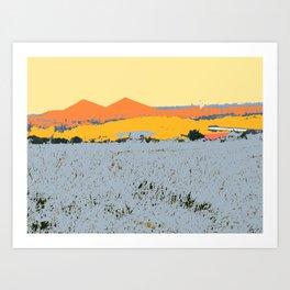 Field in Flanders Art Print