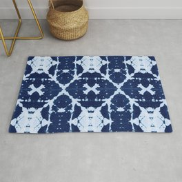 X Cloth Shibori Rug