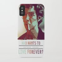 forever young iPhone & iPod Cases featuring Forever Young by InariRaith