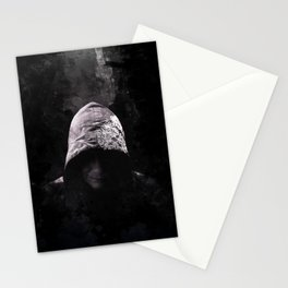 Victorian Assassin Hood - Color Stationery Cards